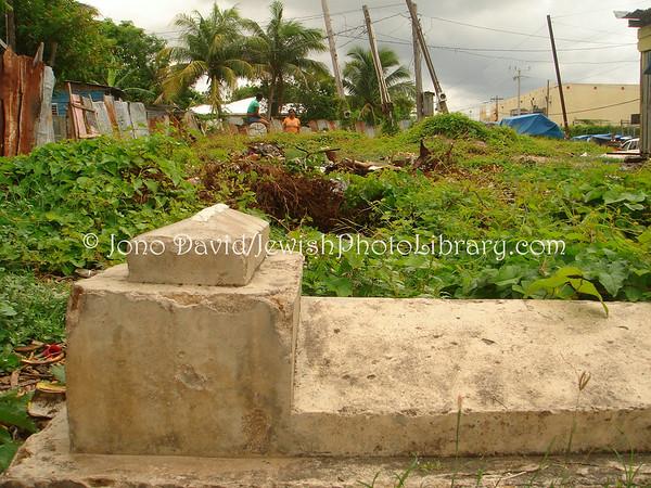 JAMAICA, Spanish Town. Ashkenazi Cemetery. (2008)