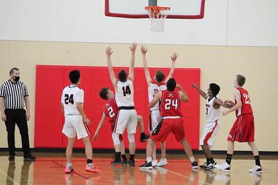 US Boys Basketball JV vs Liberty 6-4-21