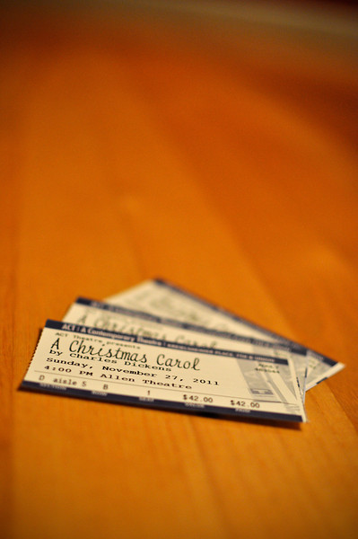 11.27.2011 - We saw A Christmas Carol at the ACT Theatre...what a great show!