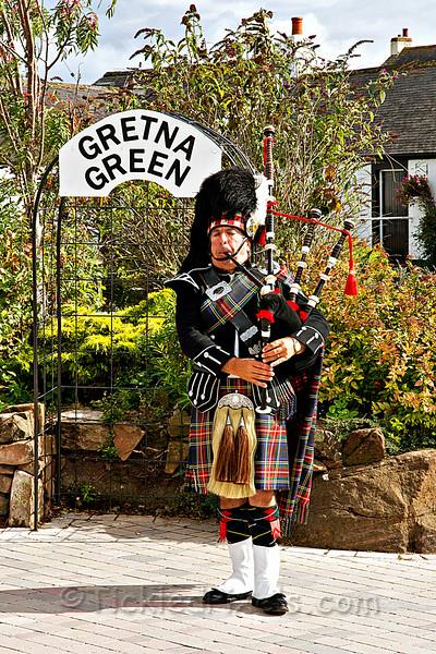 Piper at Gretna Green