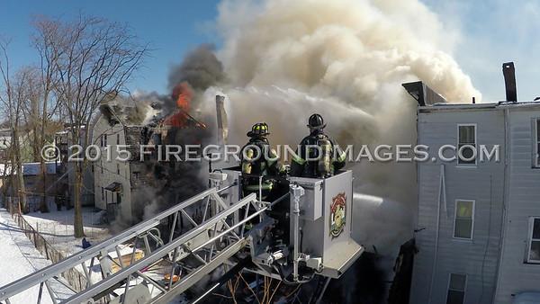 Hanover St. Fire (Bridgeport, CT) 2/27/15