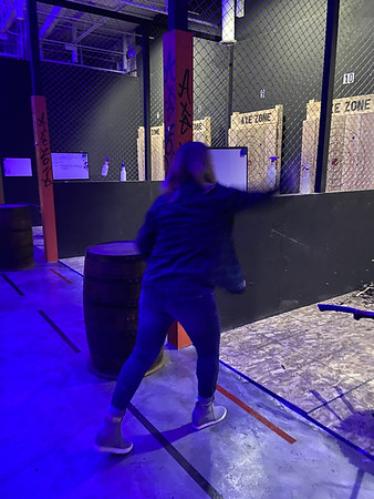 Dec. 11: Axe throwing with Shirleys