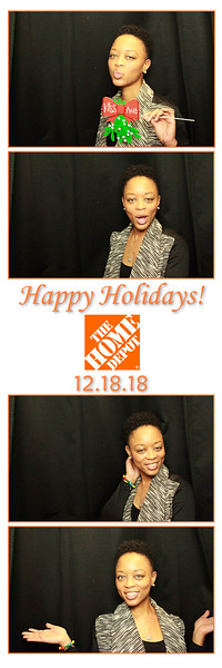 12.18.18 The Home Depot (Photo Booth)