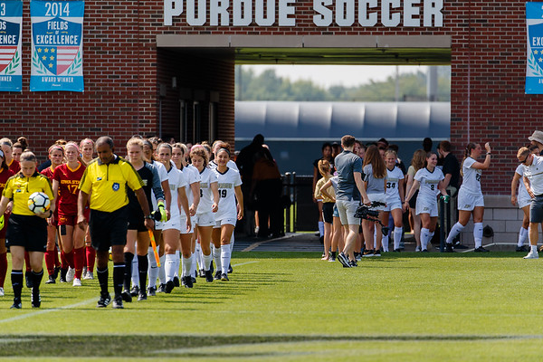 Purdue Soccer vs Iowa State 2018-8-26