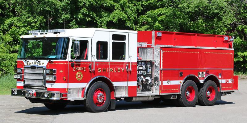 Engine 4.  2017 Pierce Enforcer.  1500 / 2500
