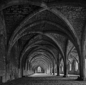 Fountains Abbey and Castle Howard, North Yorkshire, uk