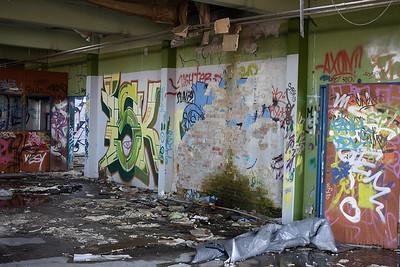 Baggrundsmalerier - Grafitti