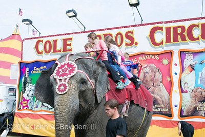 Cole Brothers Circus 4-18-14