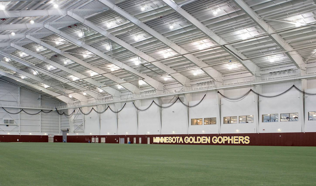 . A facilities plan unveiled Wednesday includes an Olympic sports indoors practice facility. (Courtesy of the University of Minnesota)
