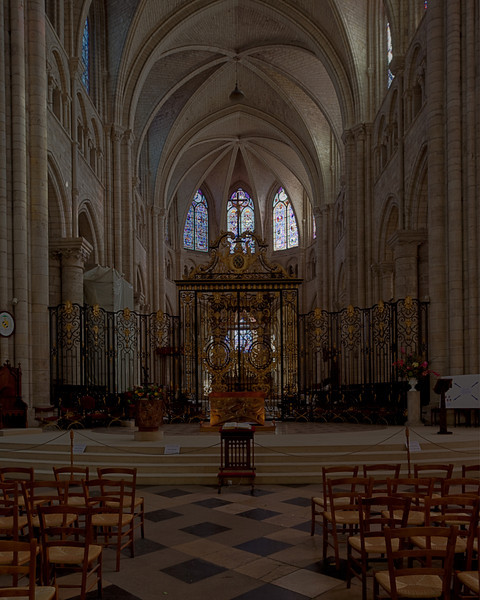 Sens Cathedral of Saint-Etienne Choir