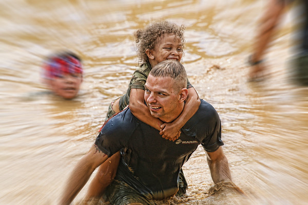9th Annual USMC Mud Run, 2 June 2018