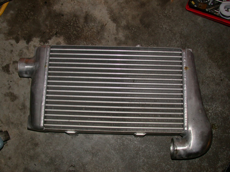hks intercooler upgrade