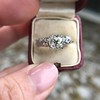 1.71ct Old Mine Cut Diamond Solitaire GIA K SI2 4