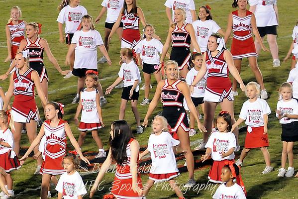 Little Cheerleader Night OP vs Heathwood Sept 09
