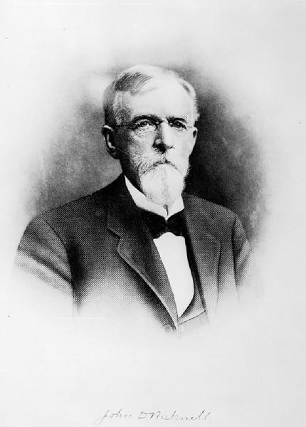 Portrait of John D. Brickwell, Monrovia, Los Angeles, ca.1900
