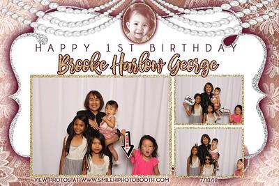 Brooke's 1st Birthday