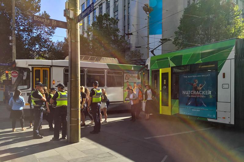 Tram track breakdown