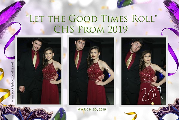 "CHS Senior Prom ""Let the good times Roll"" 3-30-2019"