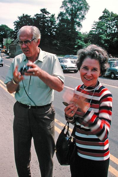 Bub & Dad Carolan June 1970