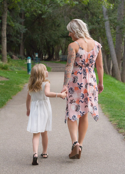 Mommy and me walking down path.jpg