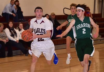 AMHS JV Boys Basketball vs Sharon photos by Gary Baker
