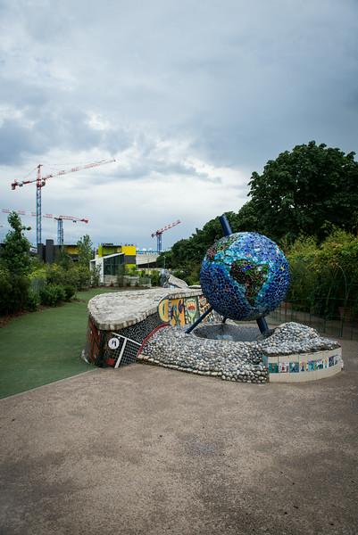 Park near Les Halles - Paris