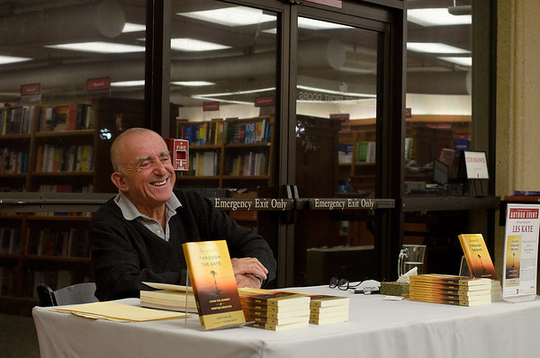 Les at Stanford Bookstore