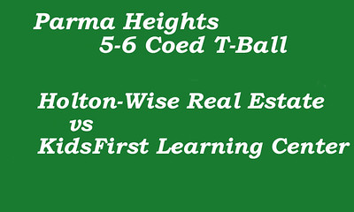 170712 Parma Heights COED 5-6 T-Ball