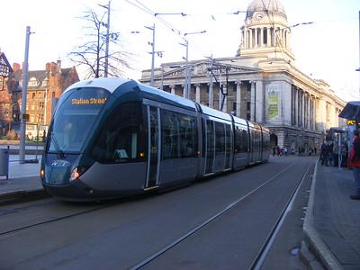 Nottingham (Tram) - 10/01/2015