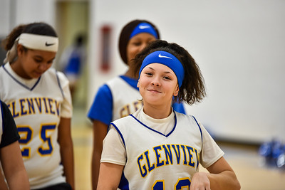01/23 - Glenview 8th Girls Basketball vs Deere