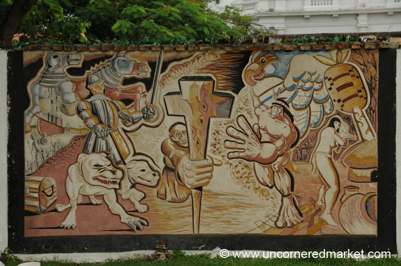 Religiously Minded Mural - Asuncion, Paraguay