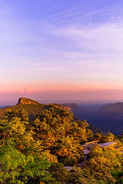 Hawksbill Sunset