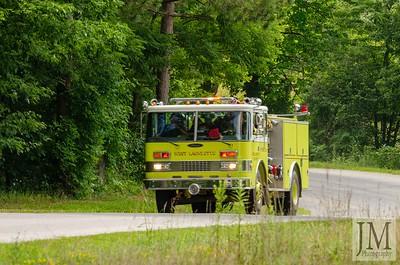 08-06-20 Semi Truck Fire