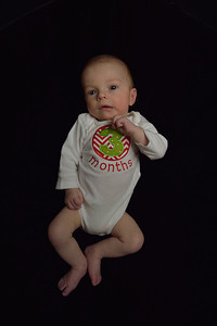 14 Cooper's 3 month pictures (December 28)