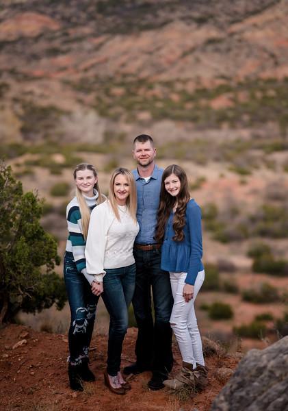 Malone family fall 2020