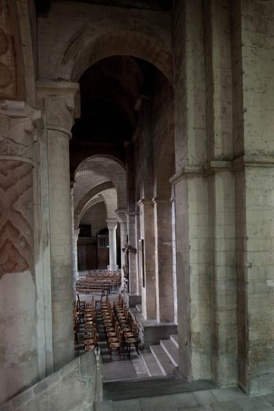 Saint-Hilaire-le-Grand Abbey Aisle