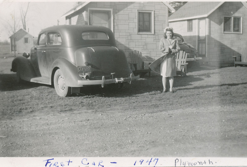 Eileen Sullivan & first car.jpg
