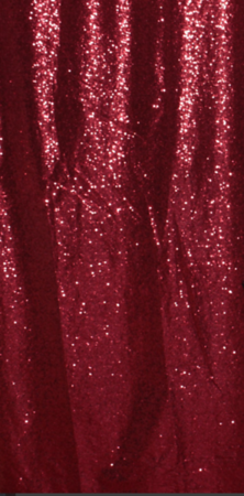 Rose Red Glitz