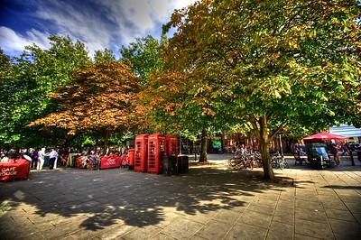 Cheltenham Town scenes