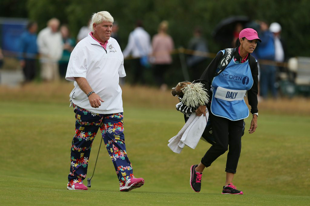 """. 7. (tie) JOHN DALY <p>Fitting that he wore Spongebob Squarepants slacks, because absorbent and yellow and porous is he. (unranked) </p><p><b><a href=\""""http://ftw.usatoday.com/2014/07/john-daly-spongebob-squarepants-pants-british-open\"""" target=\""""_blank\""""> LINK </a></b> </p><p>    (AP Photo/Jon Super)</p>"""