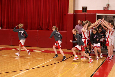 Girls JV Basketball - 2010-2011 - 1/13/2011 Spring Lake