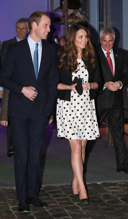 . Catherine, Duchess of Cambridge and Prince William, Duke of Cambridge attend the Inauguration Of Warner Bros. Studios Leavesden on April 26, 2013 in London, England.  (Photo by Paul Rogers - WPA Pool/Getty Images)