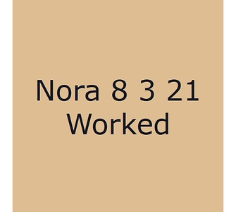 Nora 8 mars Worked