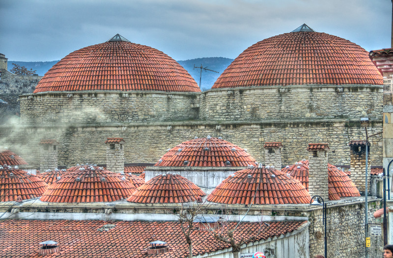 Bath and mosque in Safranbolu