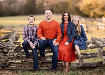 Ashley Riseden Family 2020