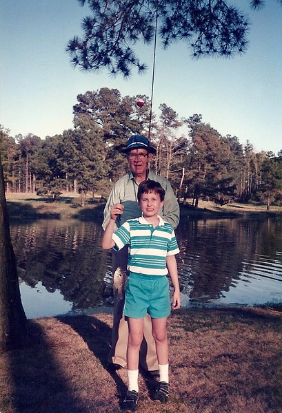 Edward's fish from Lanier Lake- March '86