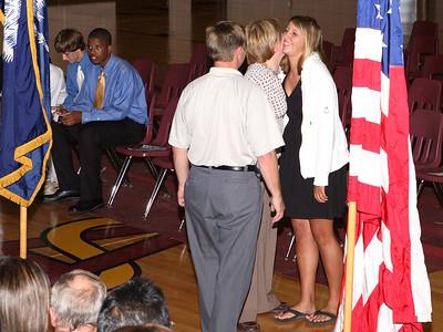 Junior's Ring Ceremony October 6, 2008