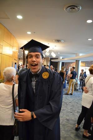Luigi's Graduation