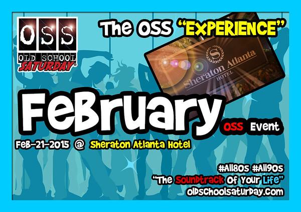 Feb.21.2015 OSS @ Sheraton Atlanta Hotel ::: ATL, GA, USA