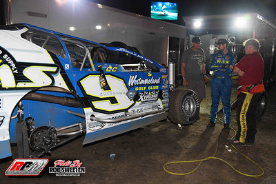 Volusia Speedway Park - Dirt Modifieds - 2/12/21 - Rob Sweeten
